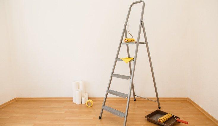 Preparación de pared y habitación
