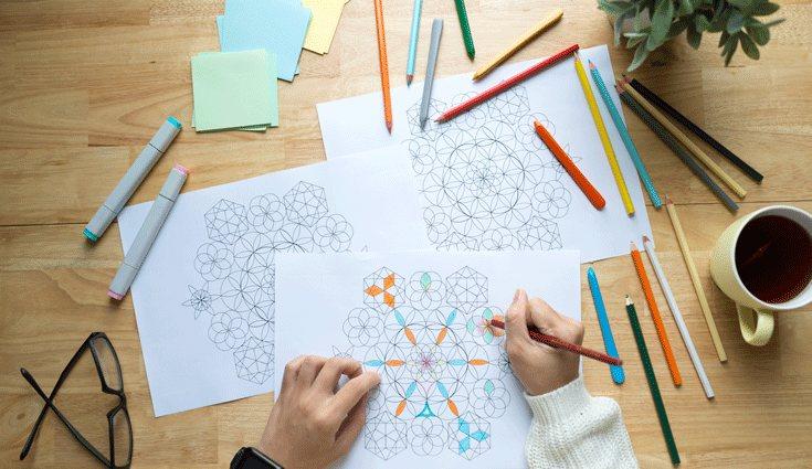 Dibujar hace que nos relajemos