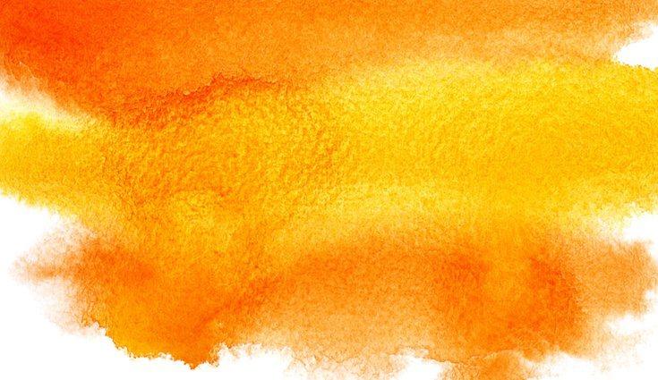 El naranja es un color cálido