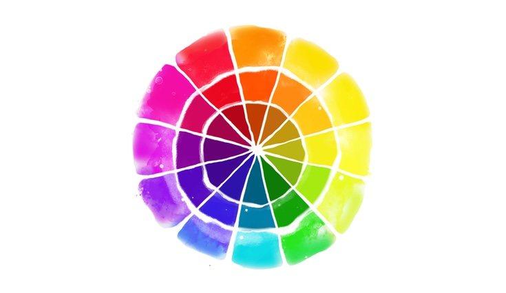 El círculo cromático sienta todas las bases de la combinación de colores
