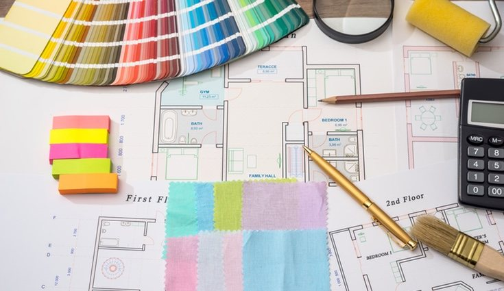 La correcta elección de colores dará a tu estancia un aspecto totalmente distinto
