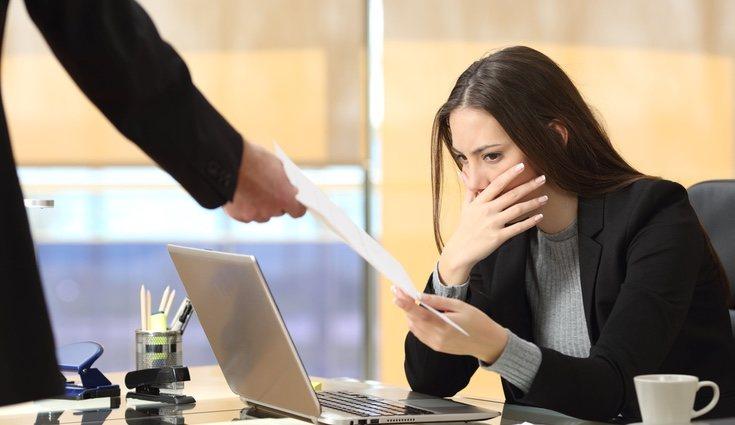 Los despidos objetivos se producen por una finalización de un contrato no renovado