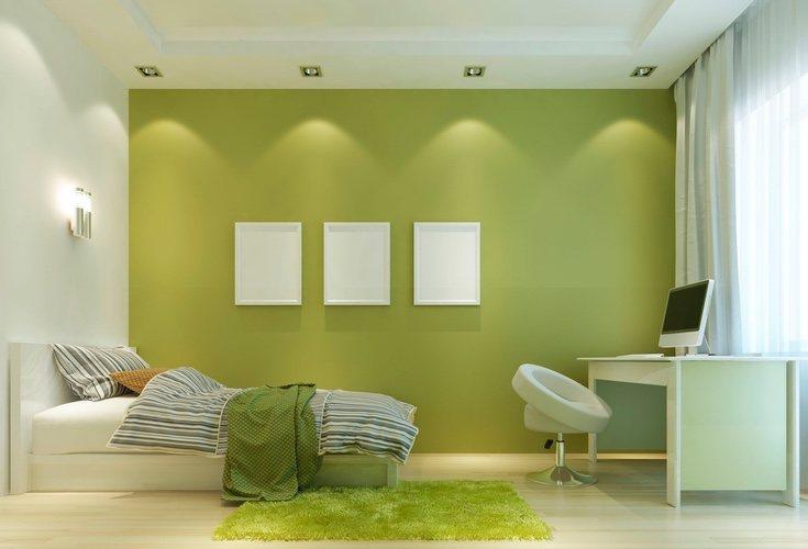 El verde aporta calma y tranquilidad