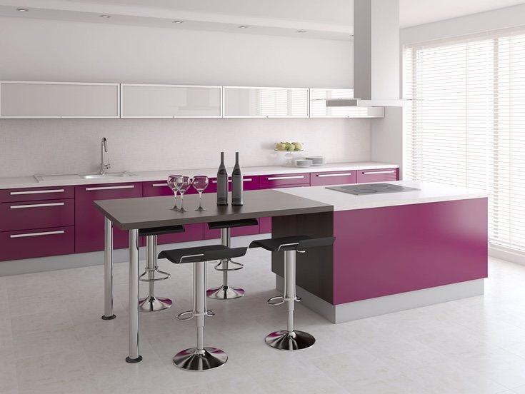 Este color en las cocinas es muy sofisiticado