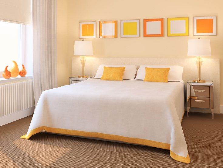 El amarillo puede emplearse para transmitir tranquilidad y serenidad