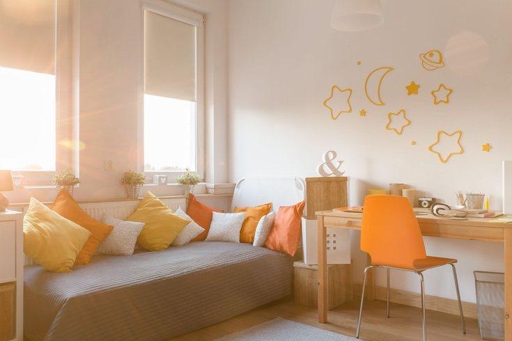 El naranja fomenta la concentración y la imaginación
