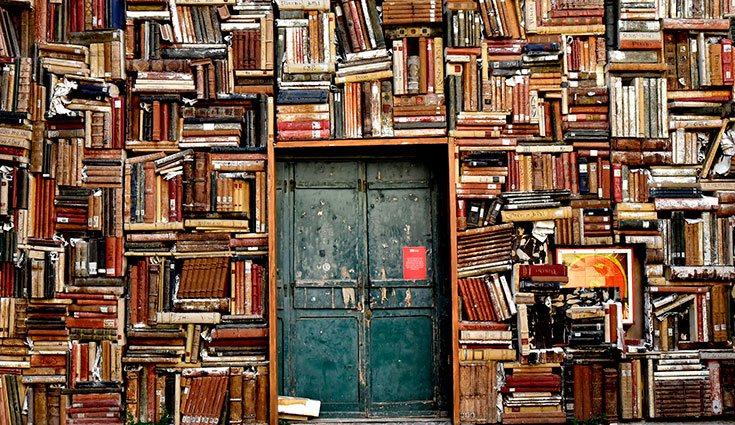 Los libros pueden convertirse en los protagonistas de la decoración de nuestros hogares