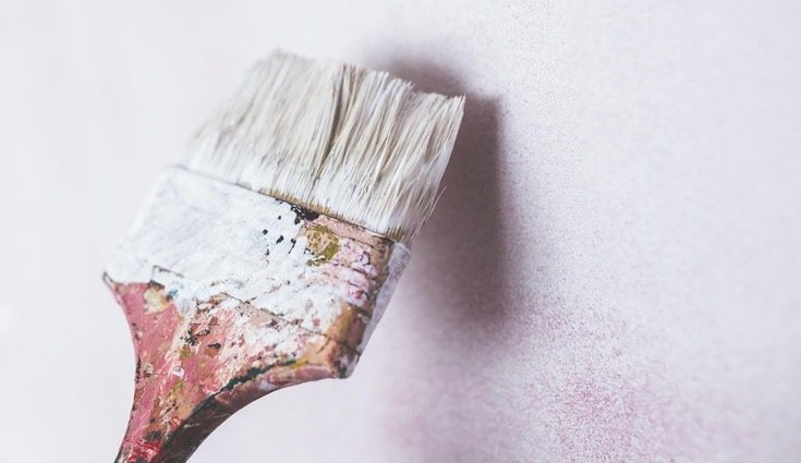 La pintura base es fundamental para obtener el resultado deseado