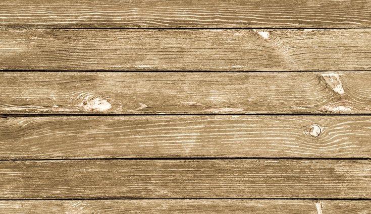 La madera con melamina dañada puede ser restaurada