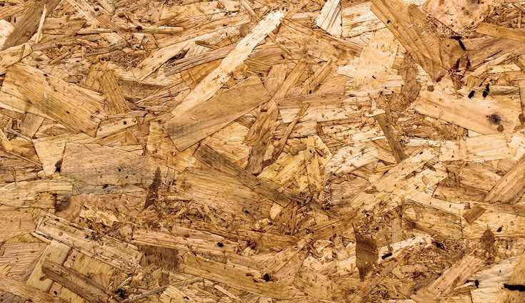 Las encimeras laminadas se forman por un prensado de maderas