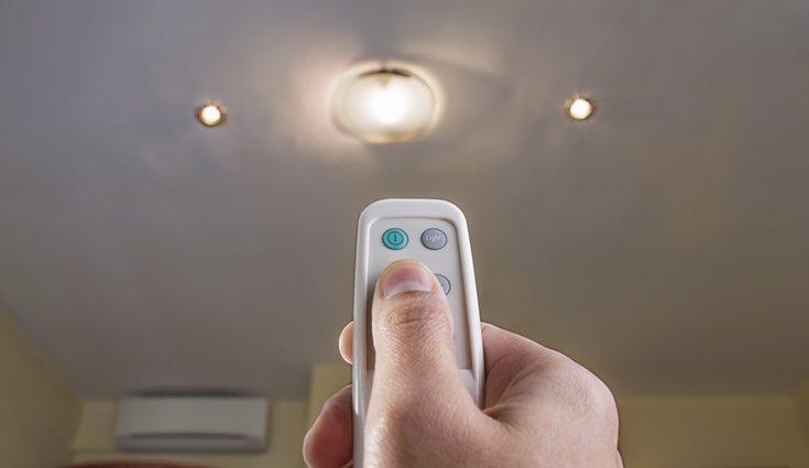 Los sensores de iluminación te permiten ajustar la luz al nivel optimo necesario