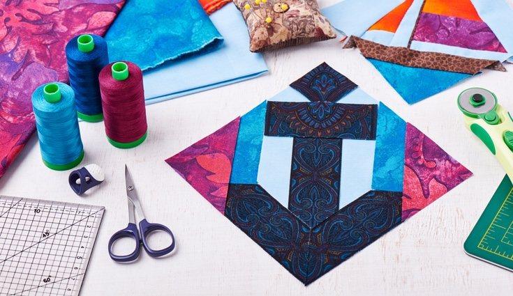 El patchwork permite la creación de piezas únicas