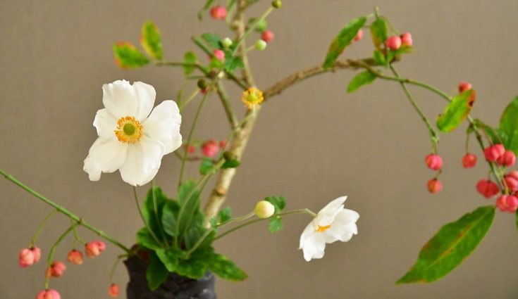El arte floral japonés está relacionado con el mindfulness