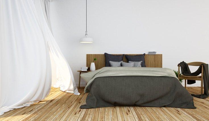La cama ha de ser la pieza central del dormitorio