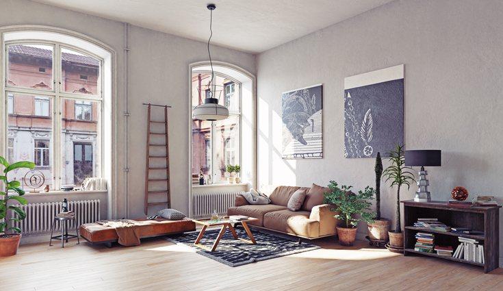 La luz natural es la opción que hará lucir mejor una estancia