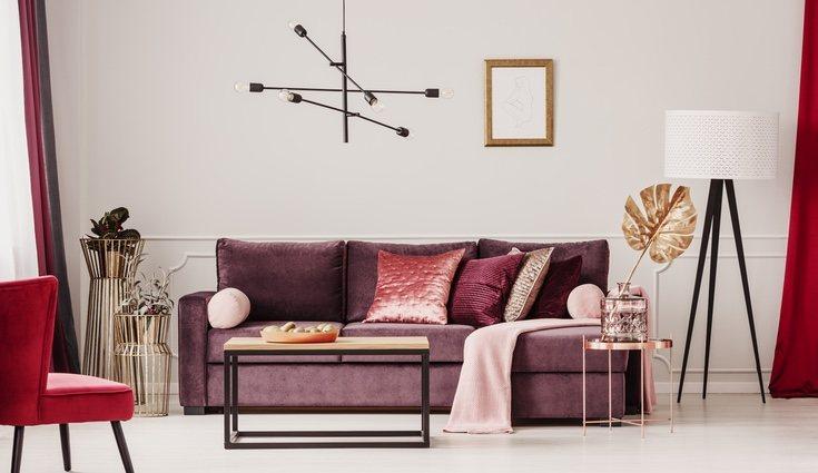 El terciopelo es perfecto para sofás y cualquier tipo de superficies
