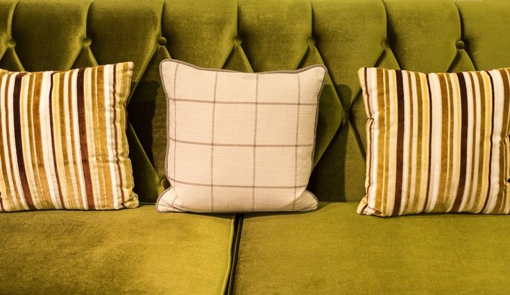 El greenery, un color pantone ideal para el terciopelo