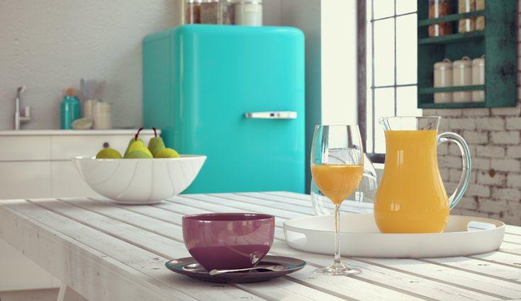 Los colores llamativos son característicos de los electrodomésticos retros