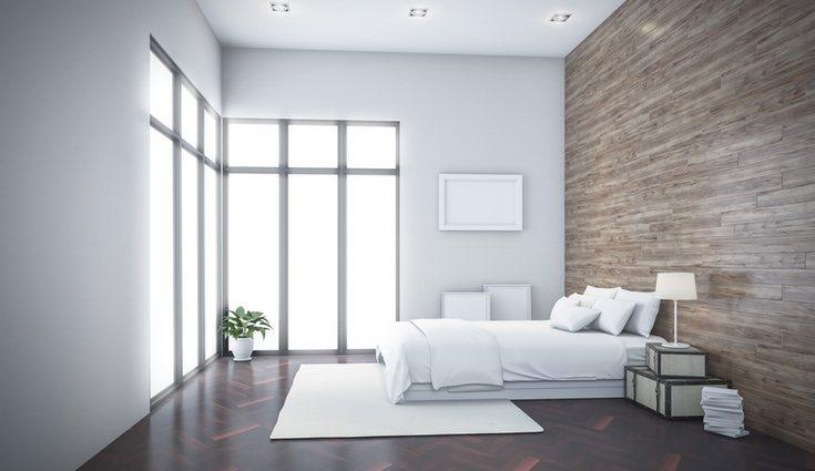 La madera puede utilizarse también en paredes