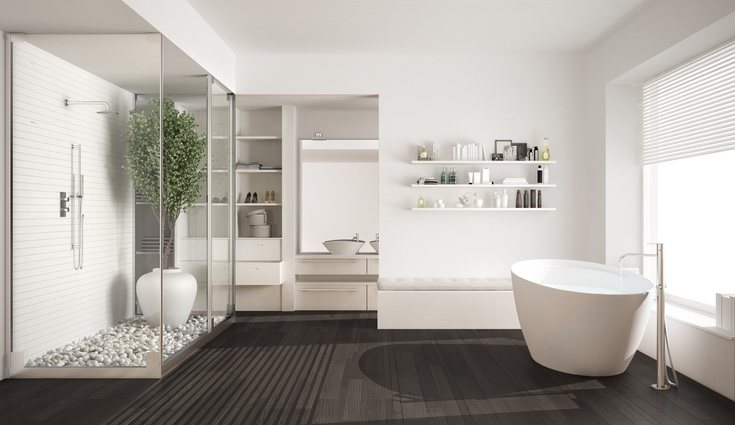 El minimalismo se emplea en baños, cocinas y cualquier estancia