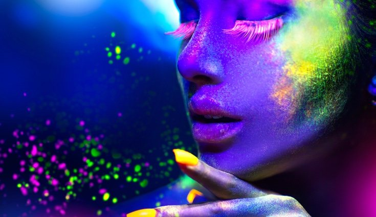 Los colores flúor tienen algo que nos hace amarlos