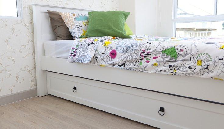 Las camas nido son muy útiles a la hora de crear un cuarto doble