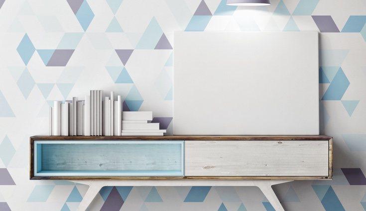 Utilizar la gama fría de colores ayudará a lograr sensación de amplitud