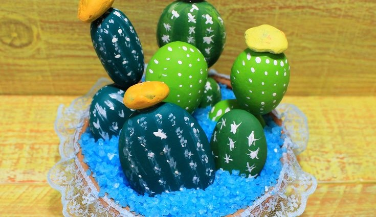 Hacer tu propio cactus es una tarea no solo entretenida, sino también original