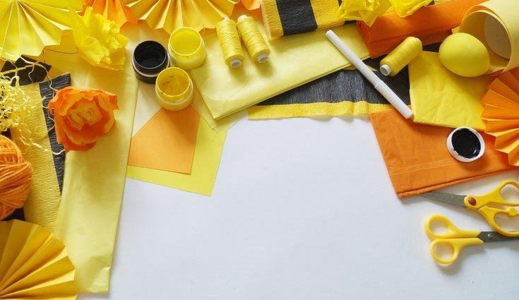 Los materiales para hacer cajas decorativas infantiles son de lo más sencillos