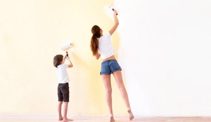 La utilización de tonos neutros en las paredes es ideal para generar confort y relax