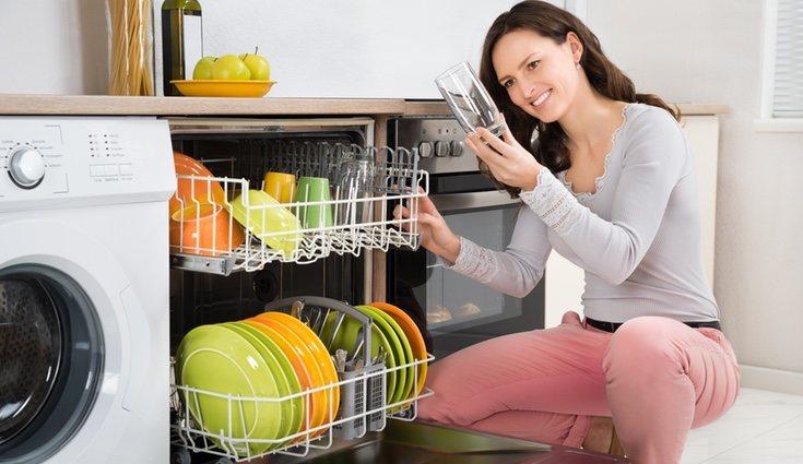 Cuando vayas a usar el lavavajillas, intenta utilizar cada espacio