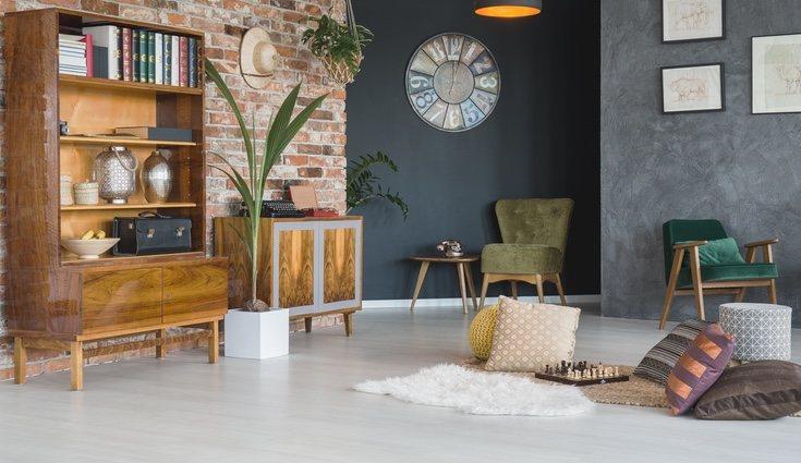 Crea un espacio más acogedor colocando ladrillo en tus paredes