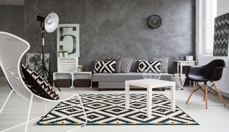 Combinar el blanco con el negro es una gran opción para crear contraste