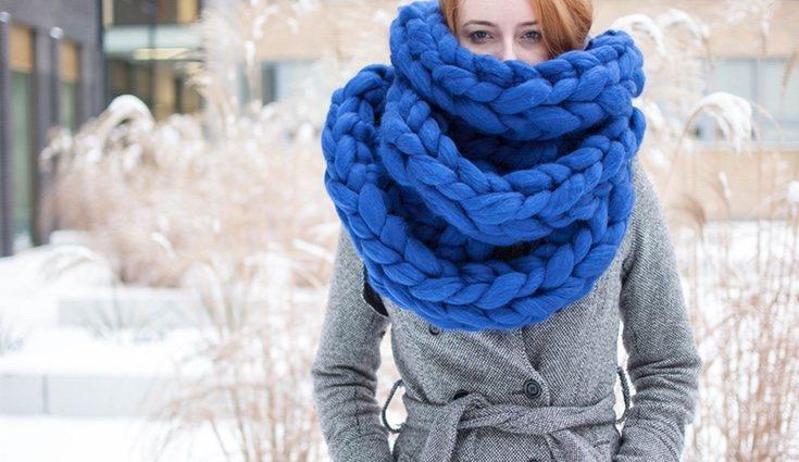 Hacer una bufanda no te llevará mucho tiempo