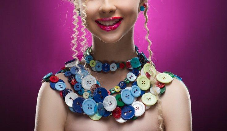 Las joyas con botones te darán un plus de originalidad y creatividad