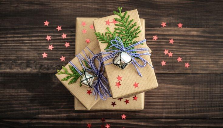 Utiliza un cascabel para que tu regalo tenga sonido