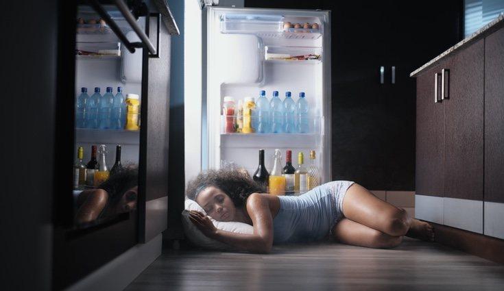 El calor puede ser tan fuerte que incluso impida dormir a los que lo sufren