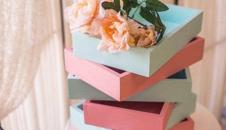 El menta y rosa son dos colores que van muy bien