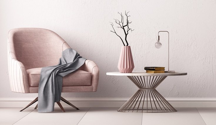 Para las casas mini es recomendable una buena iluminación y unos colores blancos o pastel para dar sensación de luminosidad