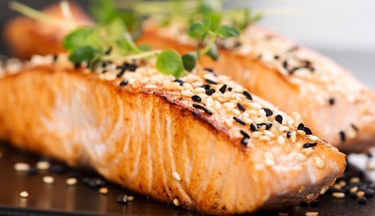 Disfruta de un riquísimo salmón
