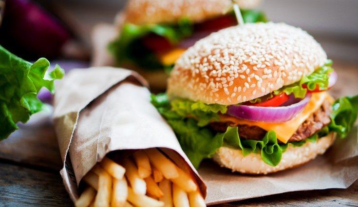 Cuidado con los envoltorios de la comida rápida