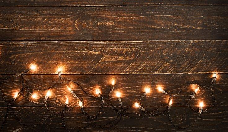 Las luces son un elemento clave en la decoración navideña
