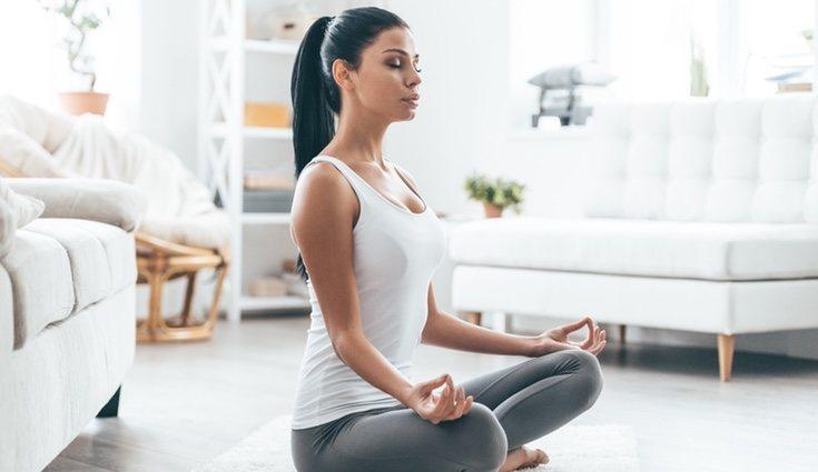 La meditación es una buena forma de evadirse y eliminar el estrés