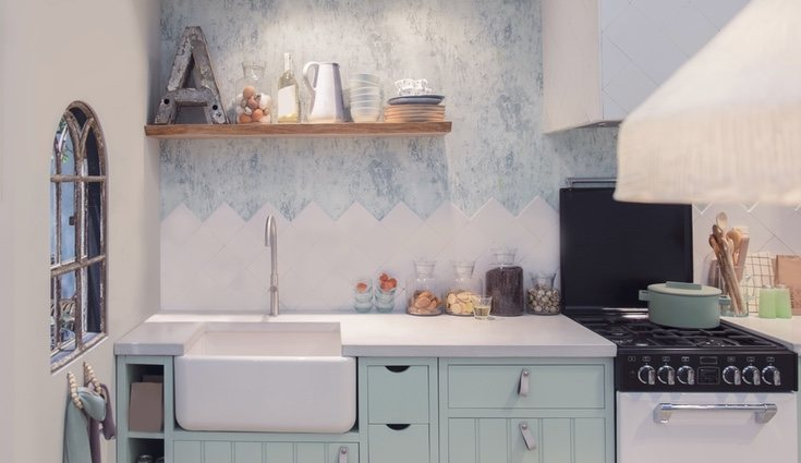 La encimera y la cocina podrán tener distintos tipos de materiales