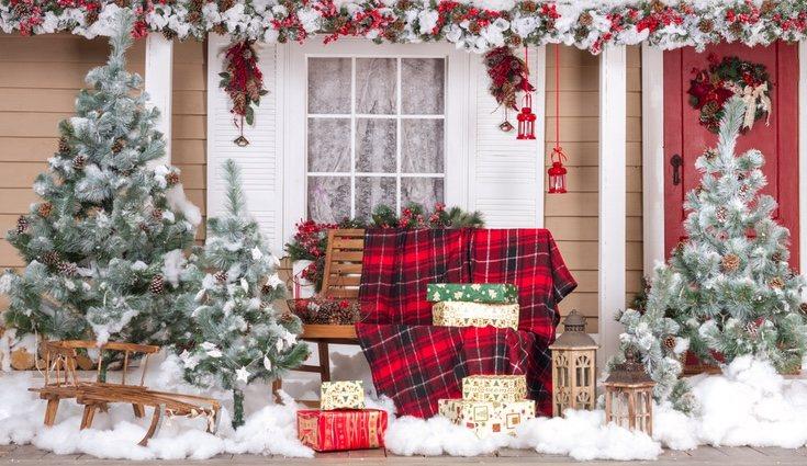 La decoración navideña de exterior presenta gran cantidad de posibilidades