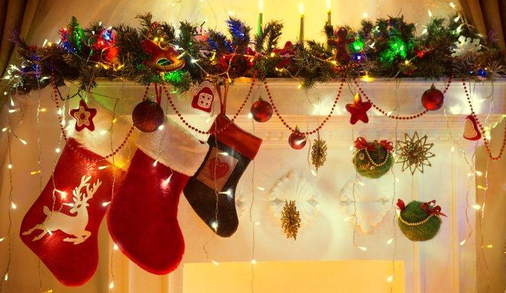 Si decides crear tu propio calcetín de Navidad, no olvides poner tu nombre