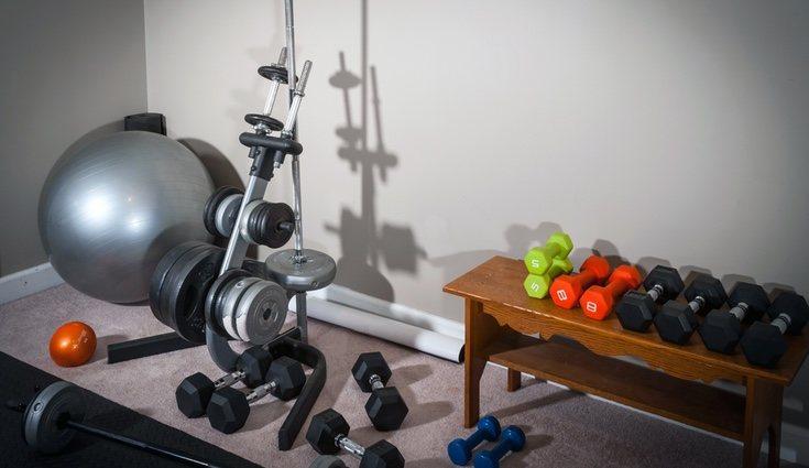Una zona de ejercicio en casa ayuda a controlar el estrés y mantenernos en forma