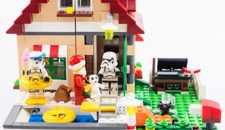Las piezas de Lego pueden ser tu gran aliado para ayudarte con los adornos navideños
