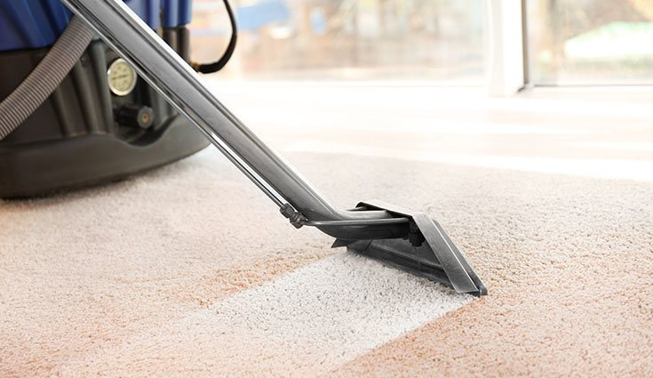 Algunas alfombras pueden dar problemas para limpiarlas