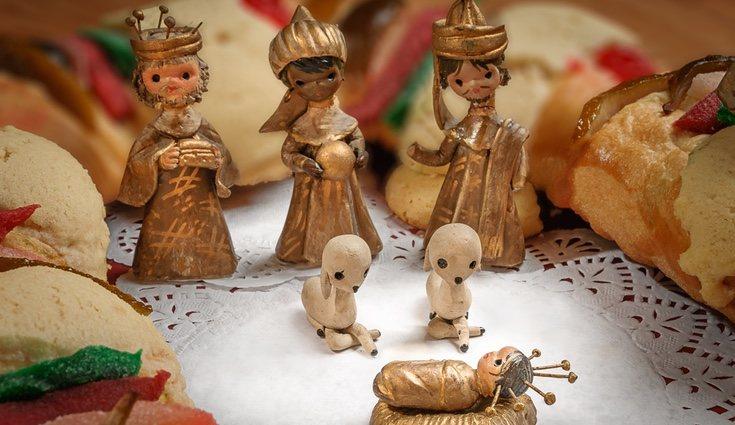 En las ciudades donde haya mercadillo de Navidad se pueden encontrar figuritas